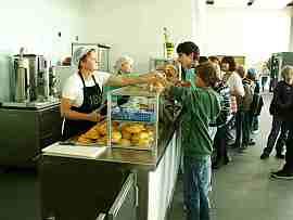 Mensa: Informationen und Speiseplan