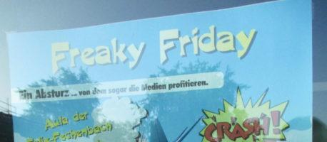 Freaky Friday: Ein Absturz … von dem sogar die Medien profitieren