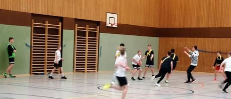 Basketball-Turnier im Jahrgang 8