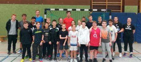 Handballturnier im 7. Jahrgang