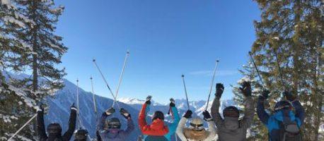 Skiexkursion des 12. Jahrganges