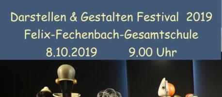 Großes Darstelllen & Gestalten – Festival an unserer Schule