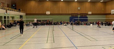Badmintonturnier des 10. Jahrgangs