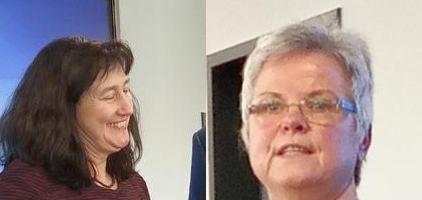 Verabschiedung von Petra Ihnofeld und Sigrid Pöppelmann-Terwey
