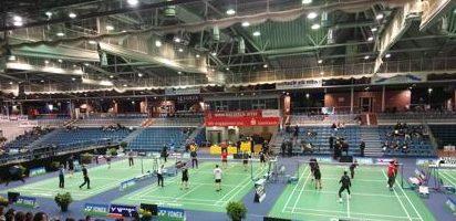 Besuch bei den deutschen Meisterschaften im Badminton
