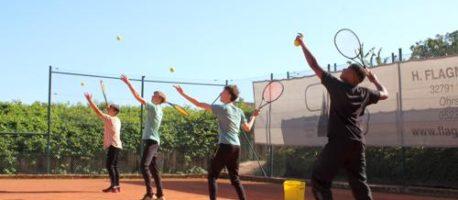 Schulsport beim TC Leopoldshöhe