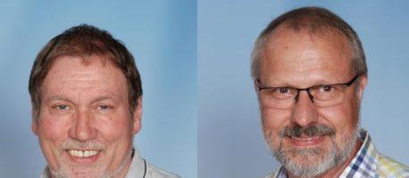 Zwei Kollegen in den Ruhestand verabschiedet